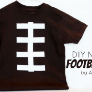 DIY Football Gifts {College Football Saturday Tailgate Link Party}