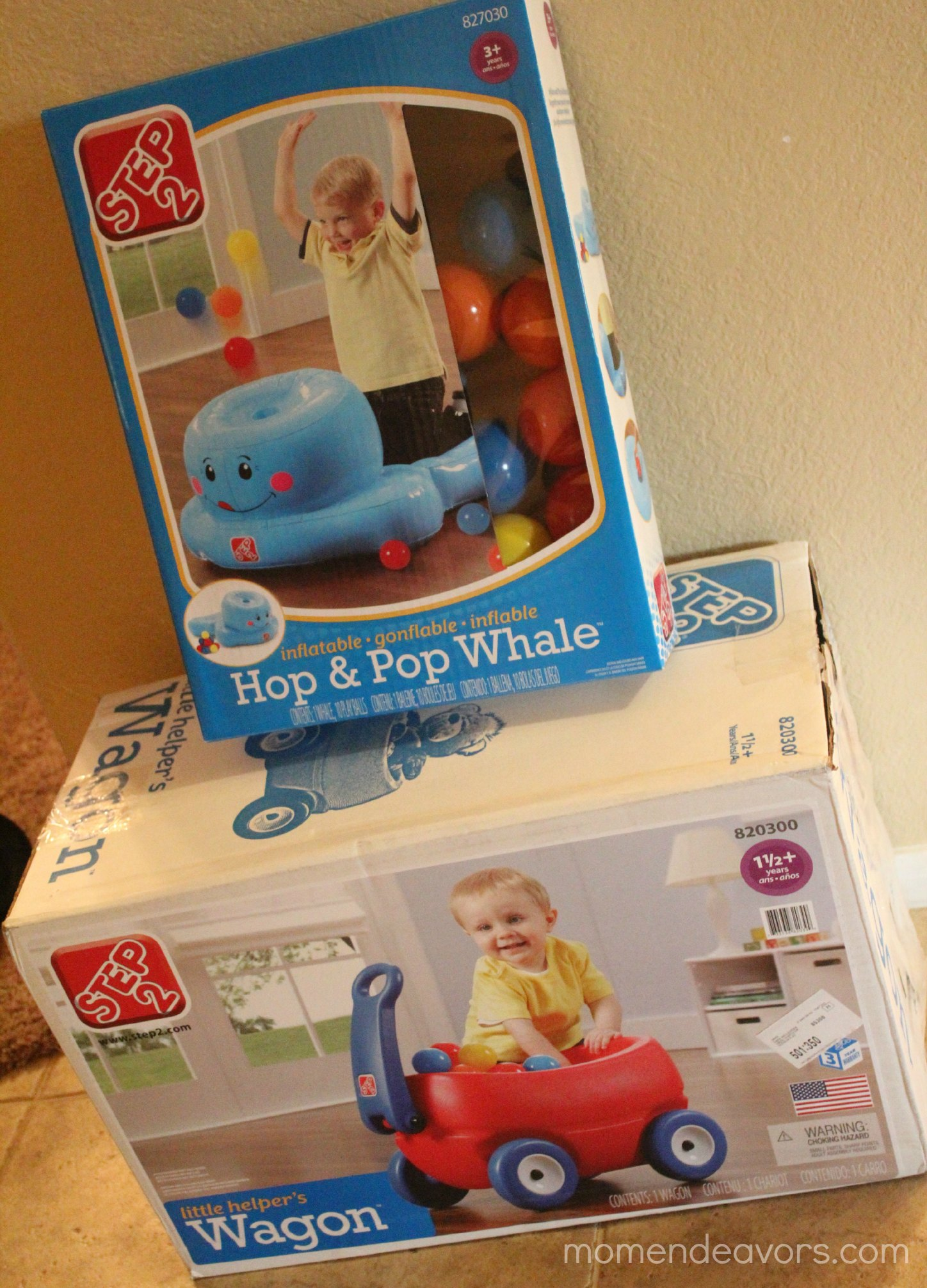 Kids Gift Ideas Step2 Little Helper s Wagon and Hop & Pop Whale