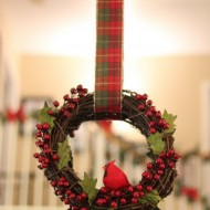 Easy DIY Winter Berry Wreath
