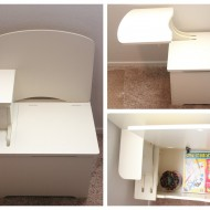 Getting organized with Chest-R-Desk!