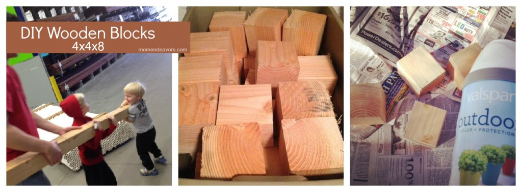 DIY Wooden Blocks