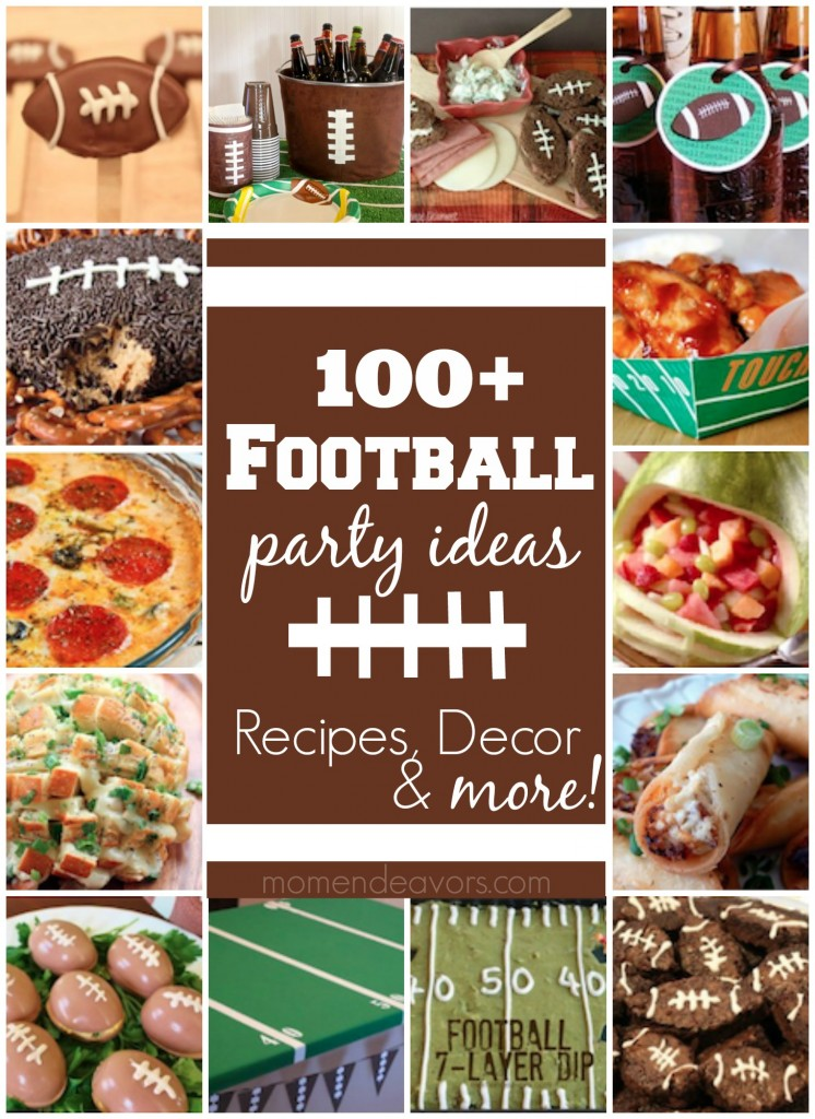 Football Recipes & Party Ideas