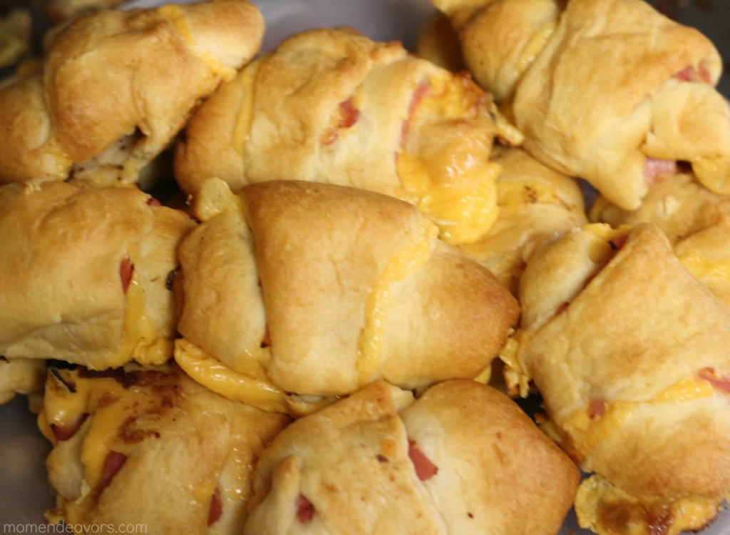 Ham & Cheese Roll-ups