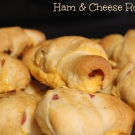 Kid-Approved Football Food: Ham & Cheese Roll-ups