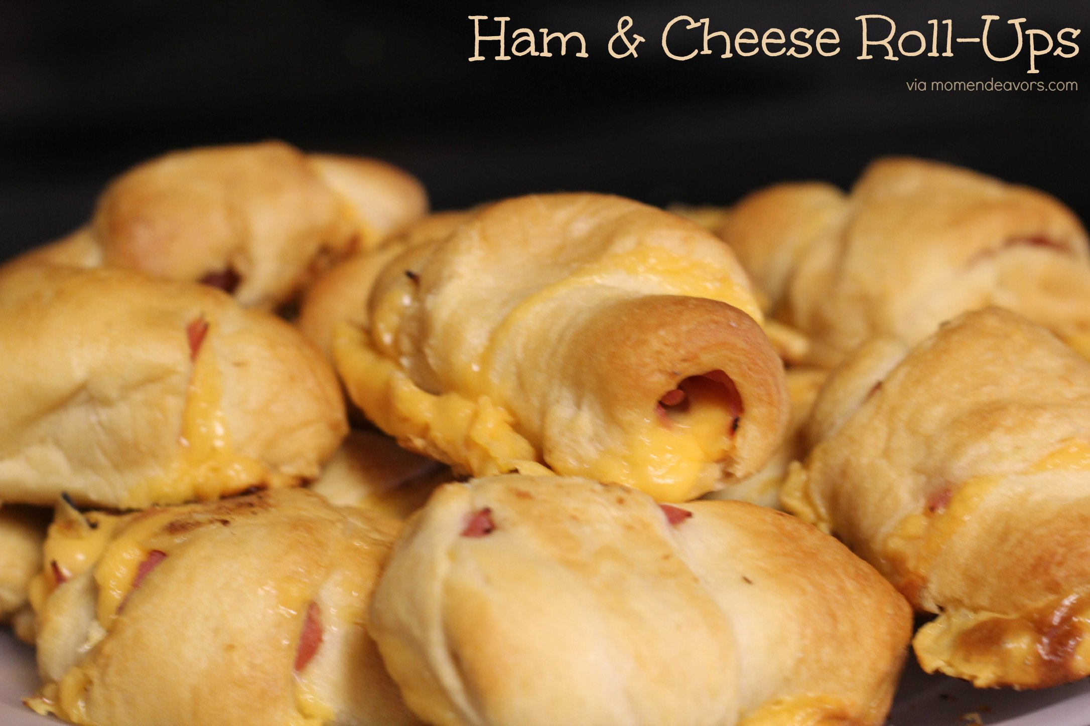 Kid Approved Football Food Ham Amp Cheese Roll Ups