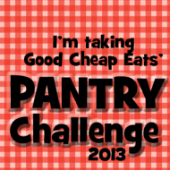 Pantry Challenge – 2013