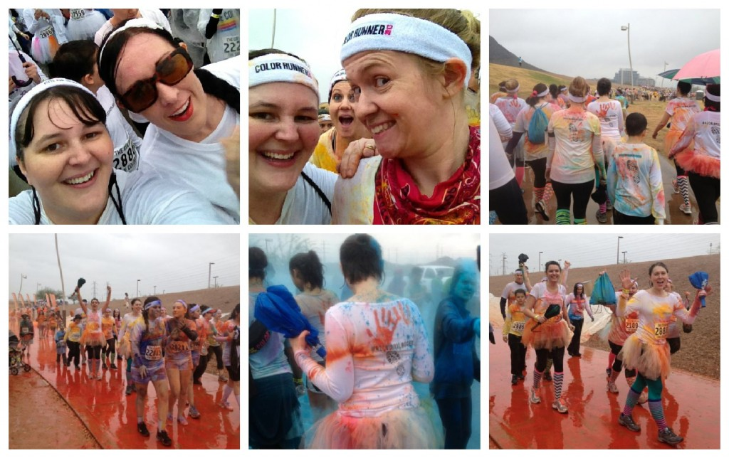 Soggy Color Run