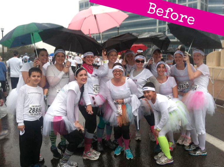 The Color Run Before