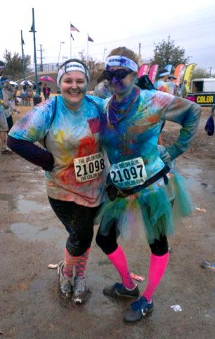The Color Run - after