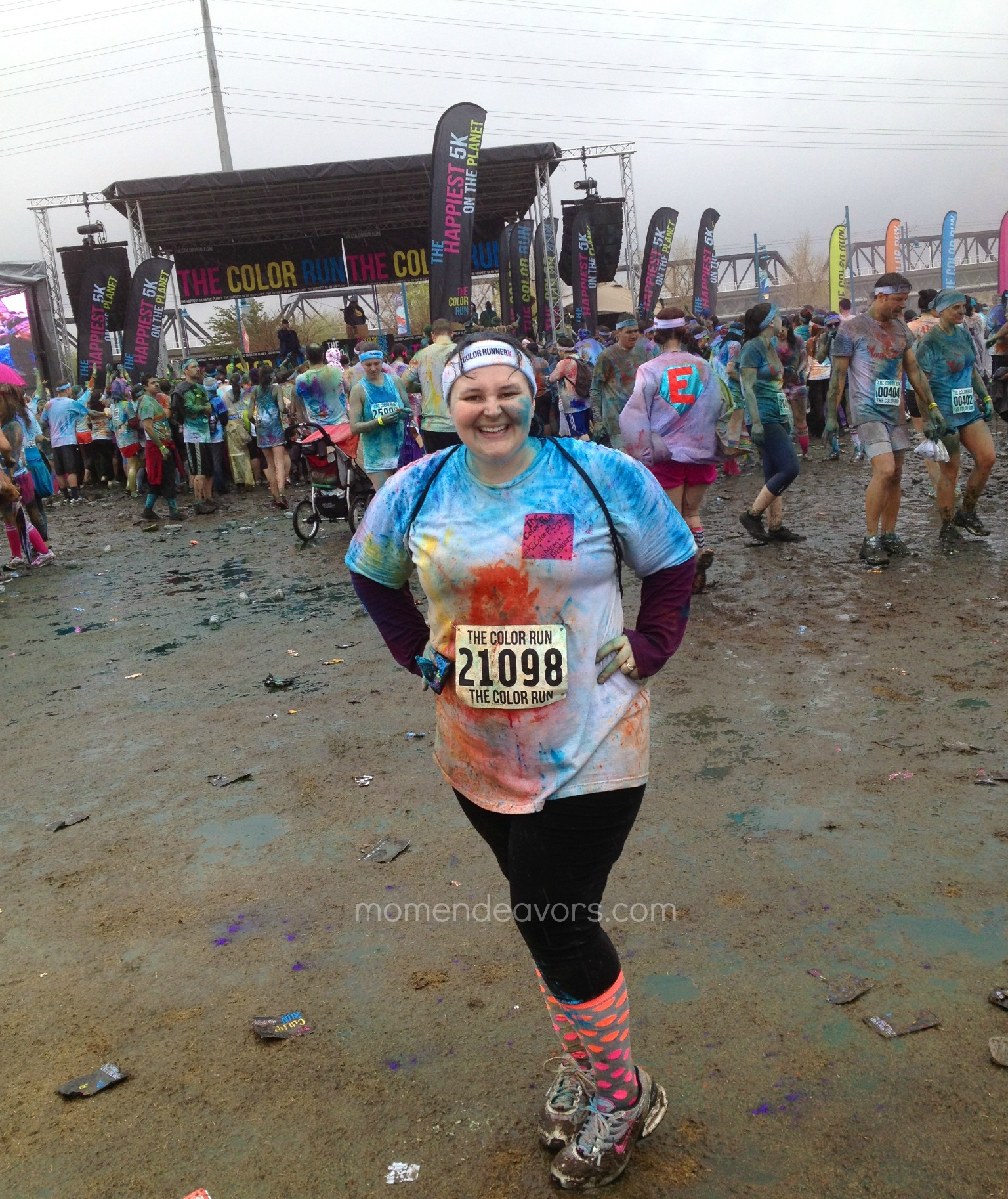 The Color Run - end