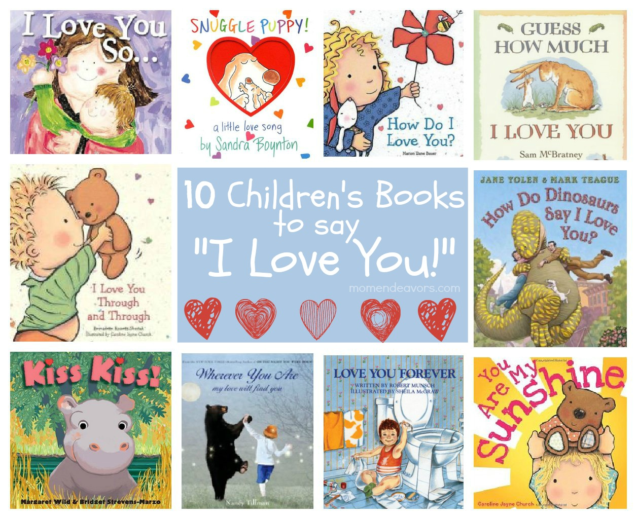 Children S Books To Say I Love You