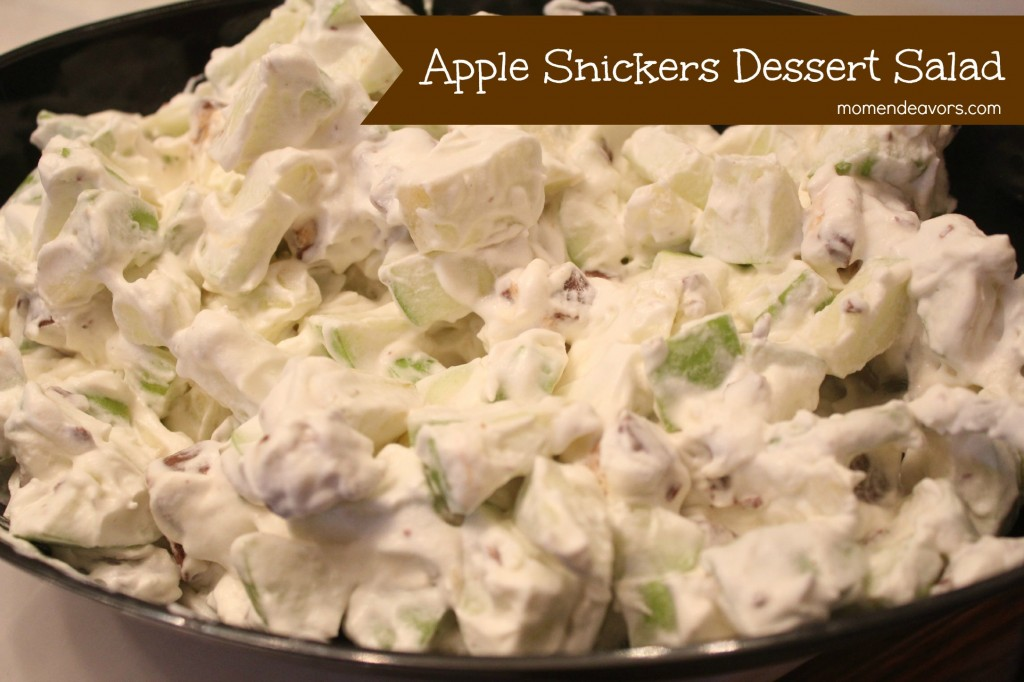 Apple Snickers Dessert Salad