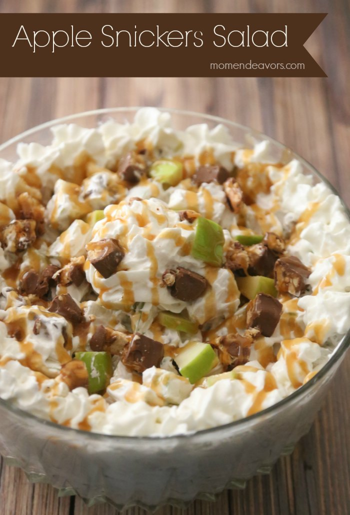 Apple Snickers Salad
