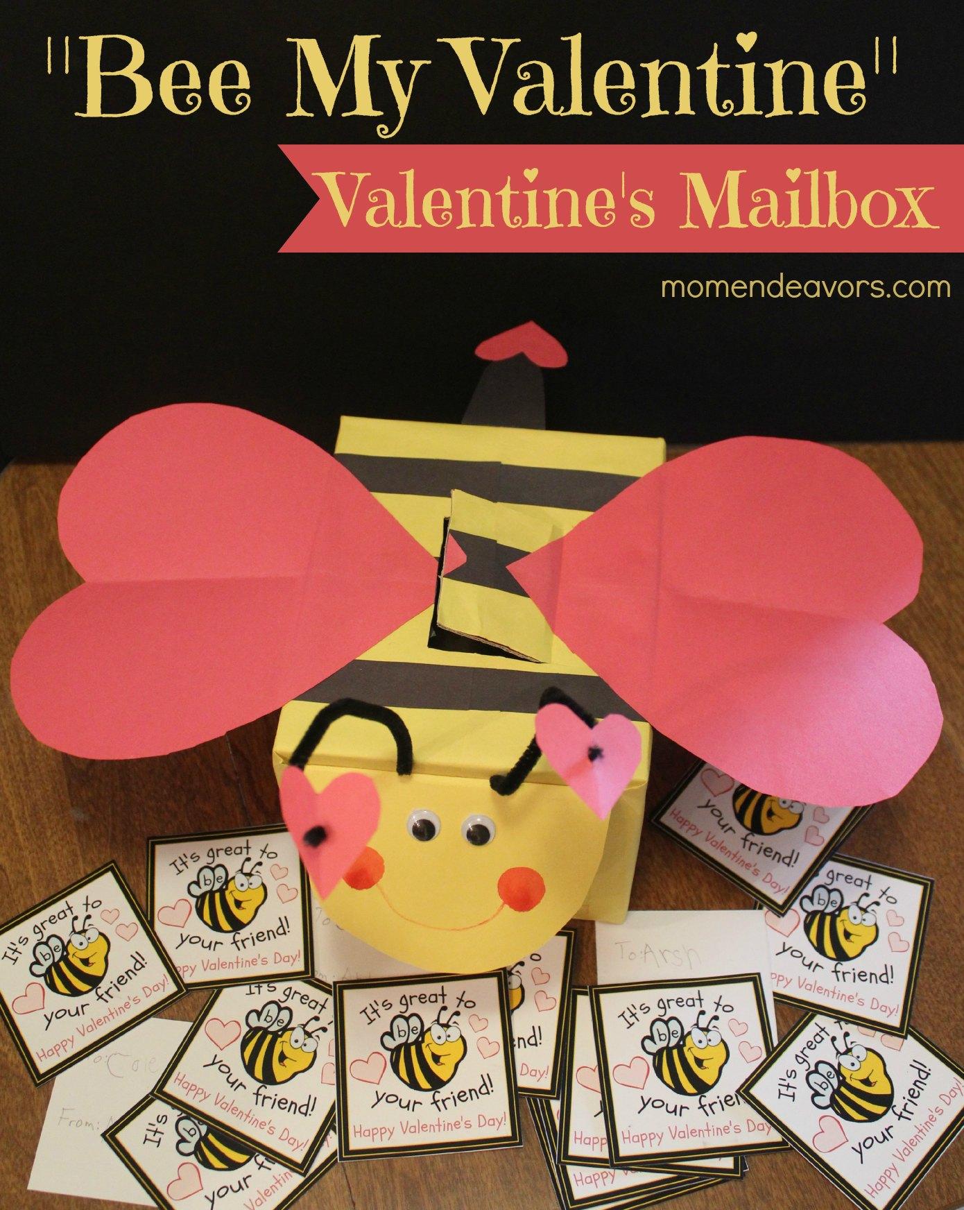 Bee Valentine's Mailbox