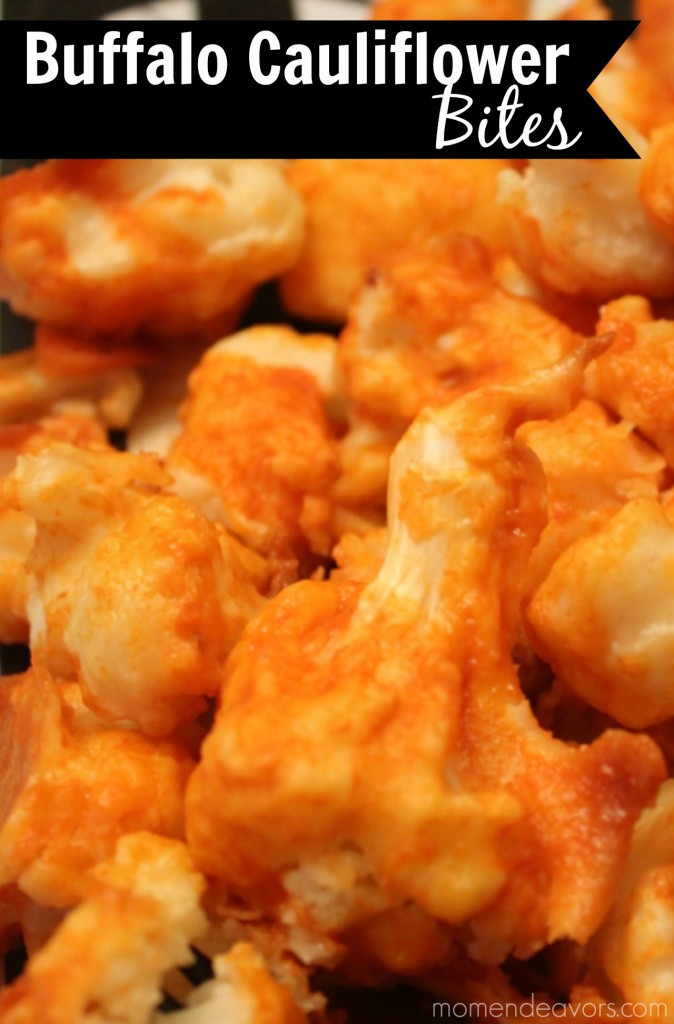 Buffalo Cauliflower Bites (gluten free)