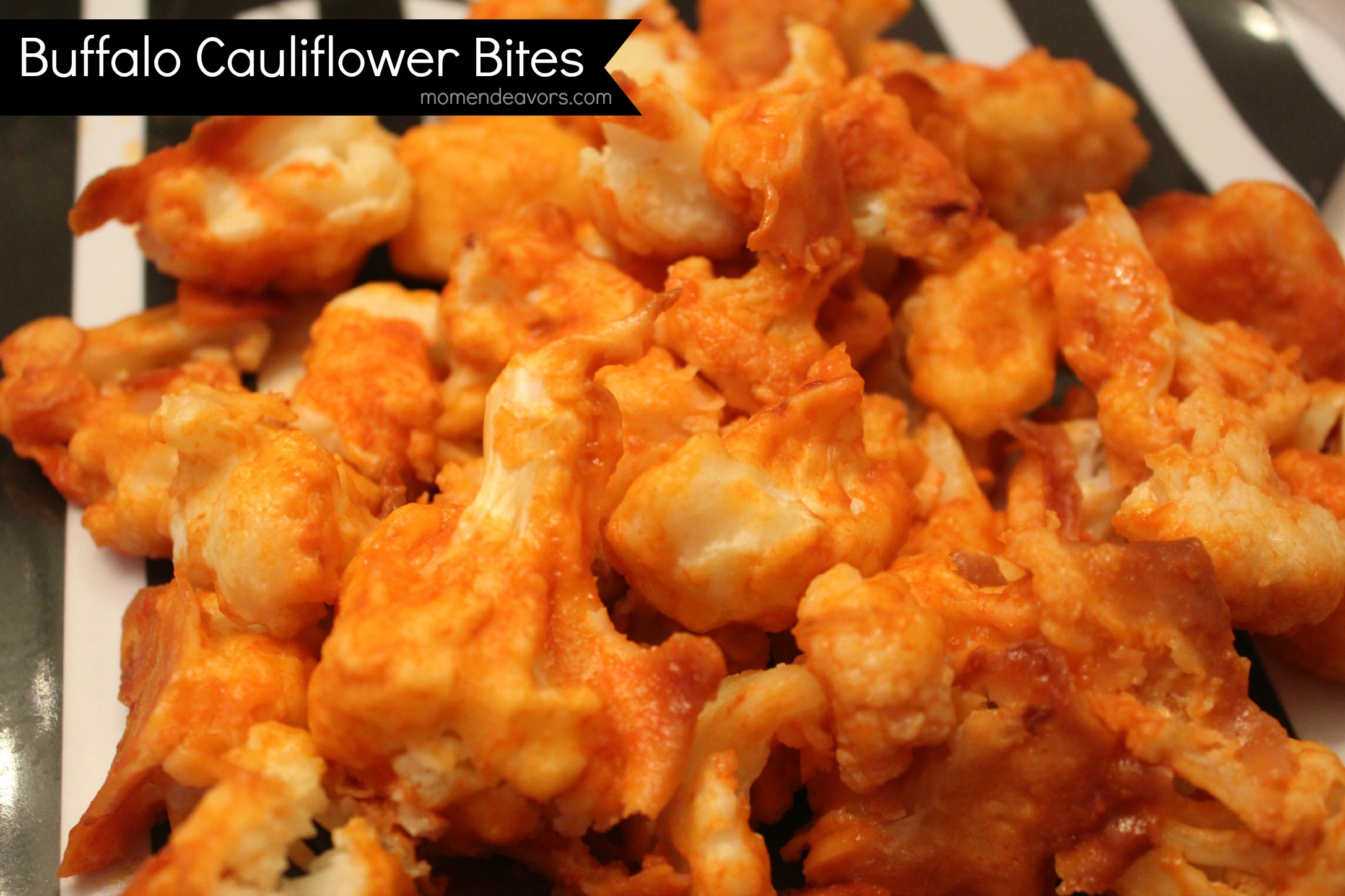 Baked Gluten Free Buffalo Cauliflower Bites