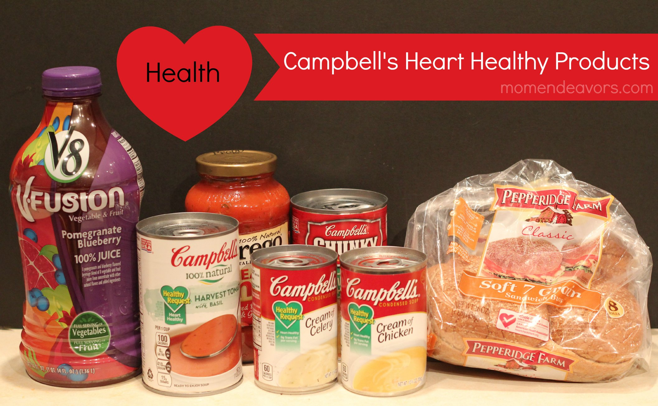 Campbellu0027s Heart Healthy Products