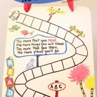 DIY Dr. Seuss Inspired Reading Chart