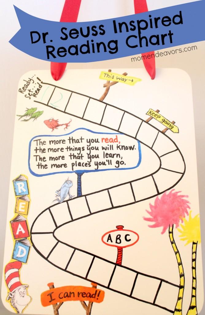 Dr. Seuss Reading Chart