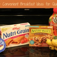 Healthy & Convenient Breakfast Ideas #BreakfastSavings