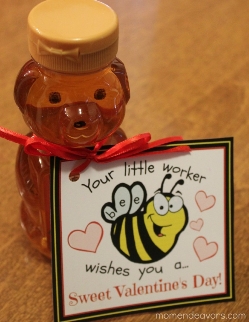 Honey Bee Valentine's Gift