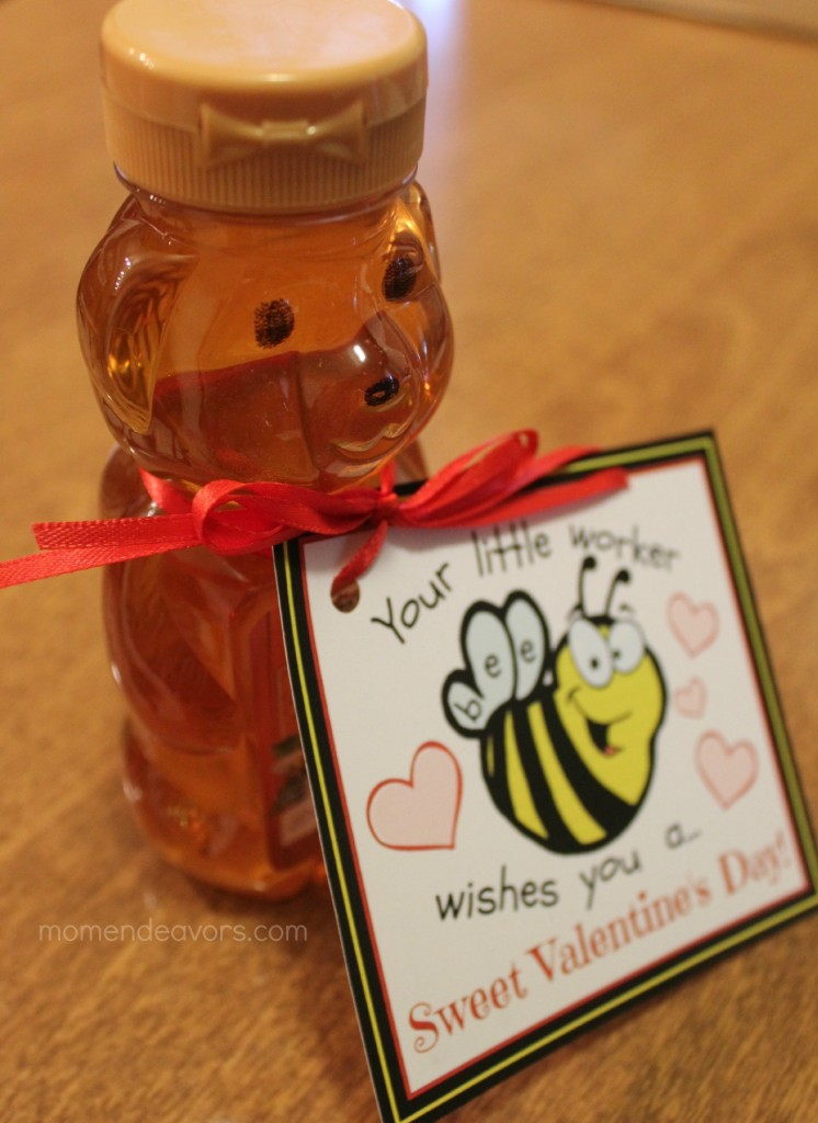 Honey bee valentine
