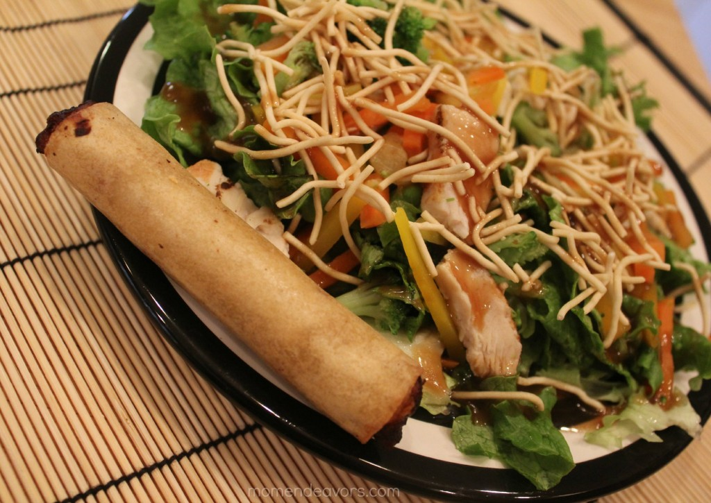 Lean Cuisine Salad & Spring Roll
