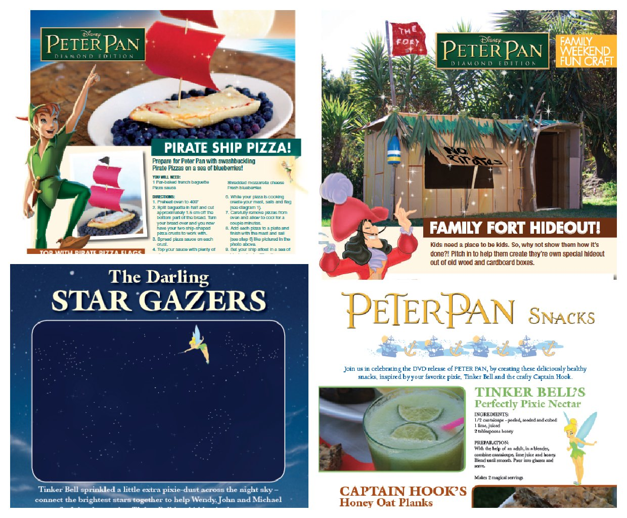 Peter Pan Recipes & Activities