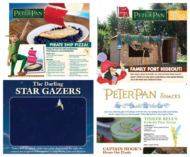 Peter Pan Recipes & Activities