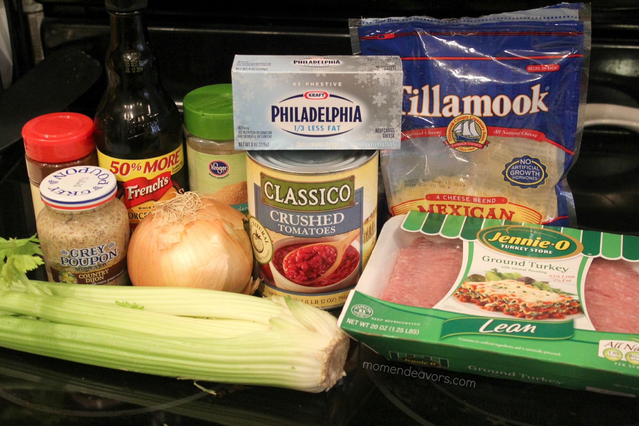 Turkey Sloppy Joe Ingredients