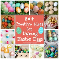 Dyeing Easter Eggs – 20+ Creative Ideas