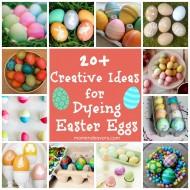 Dyeing Easter Eggs – 20+ Creative Ideas