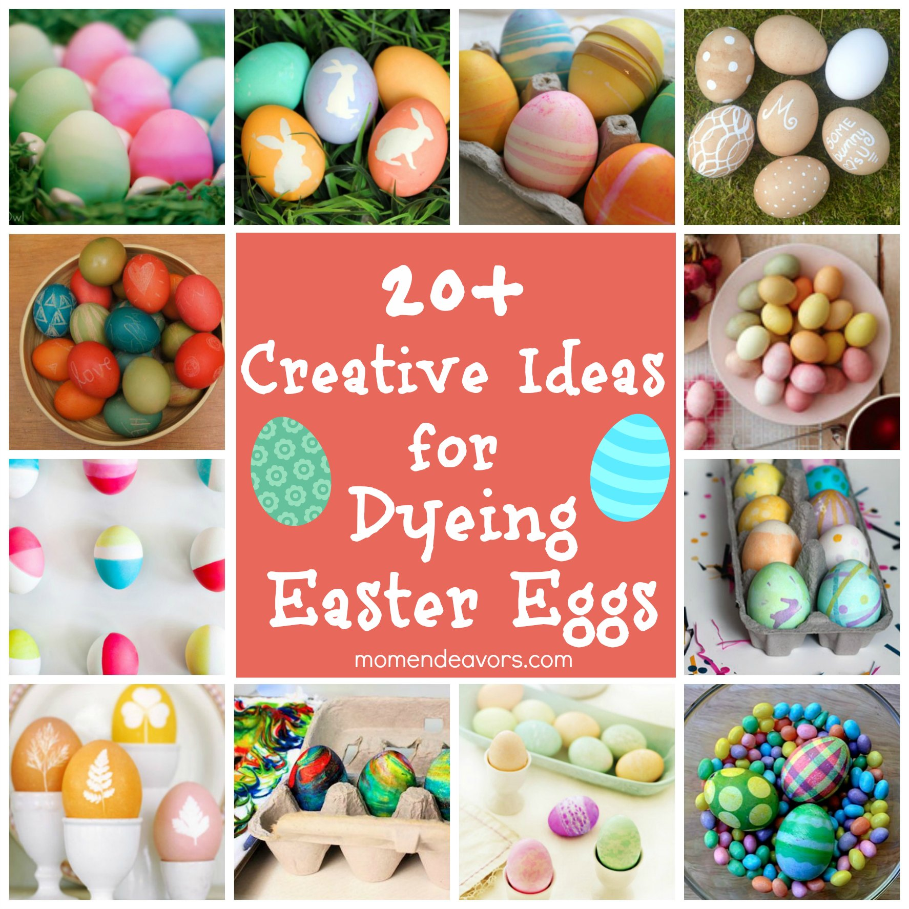 Dyeing Easter Eggs 20 Creative Ideas