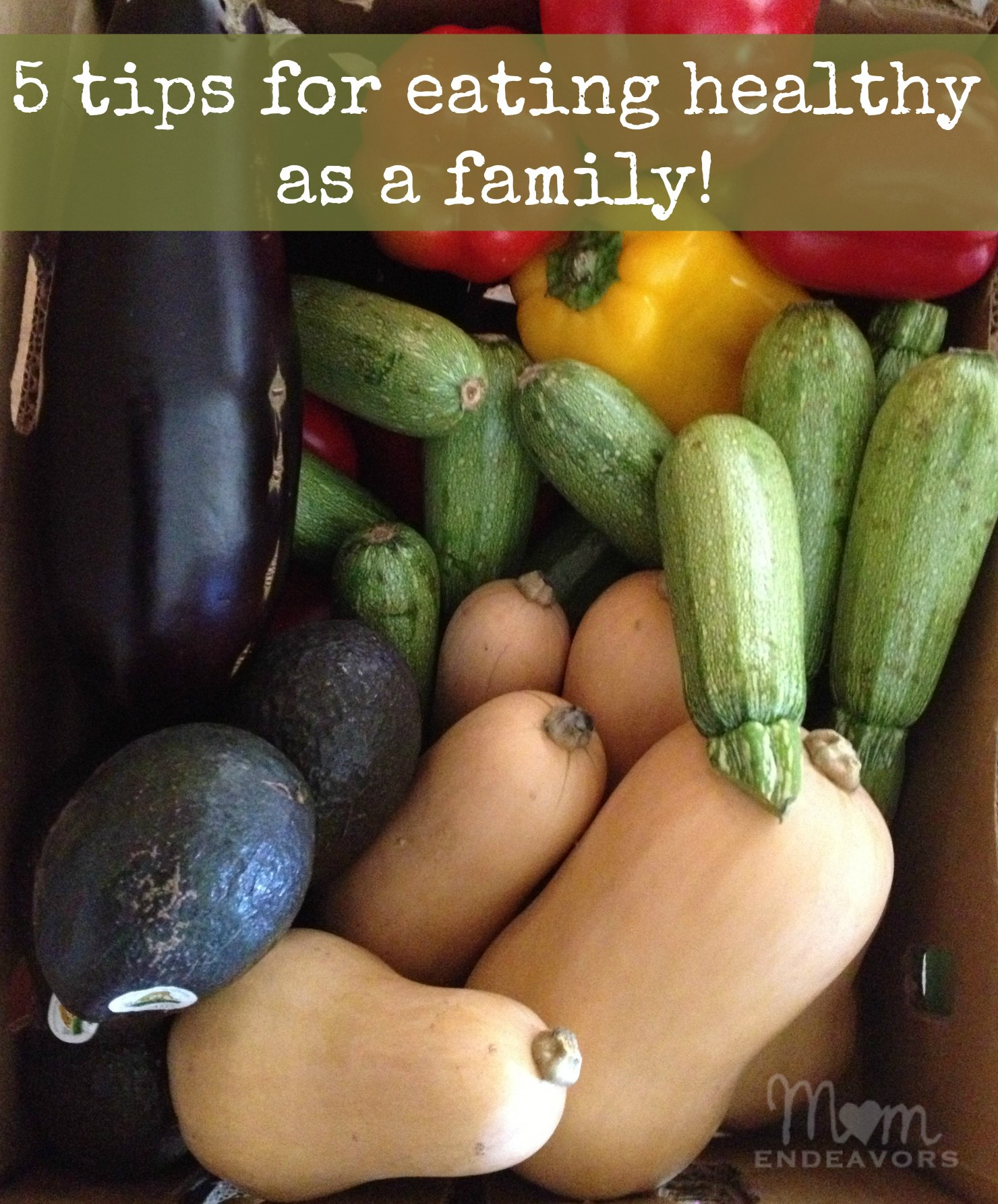 5 Tips for Eating Healthy as a Family