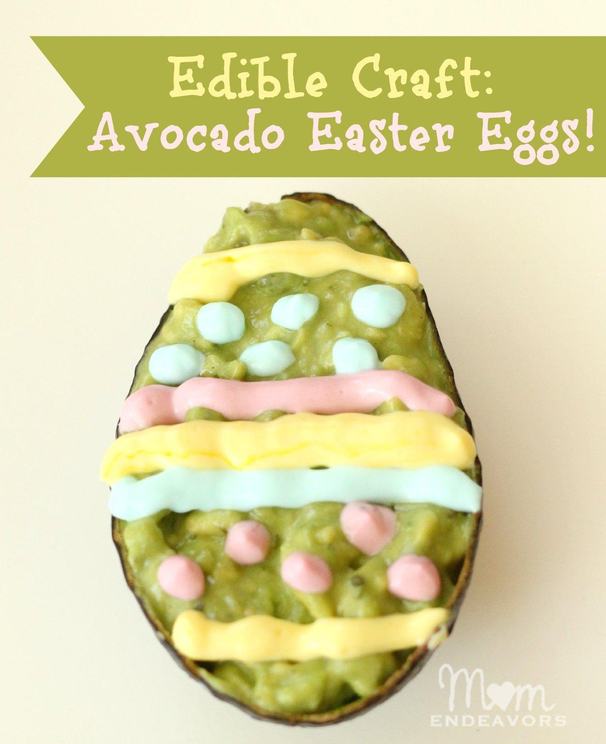 Avocado Easter Eggs