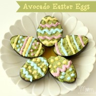 Edible Craft: Avocado Easter Eggs