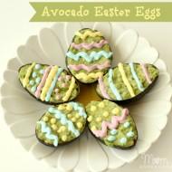 Edible Craft: Avocado Easter Eggs
