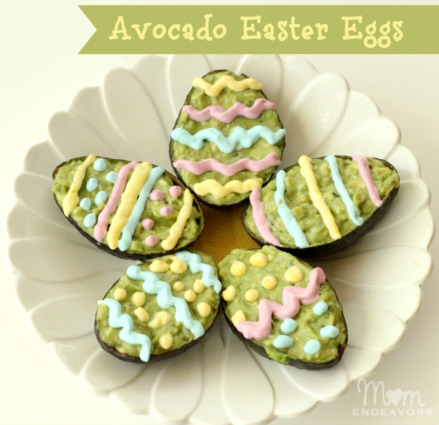 Avocado Easter Eggs
