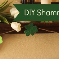 Quick & Easy DIY Shamrock Garland