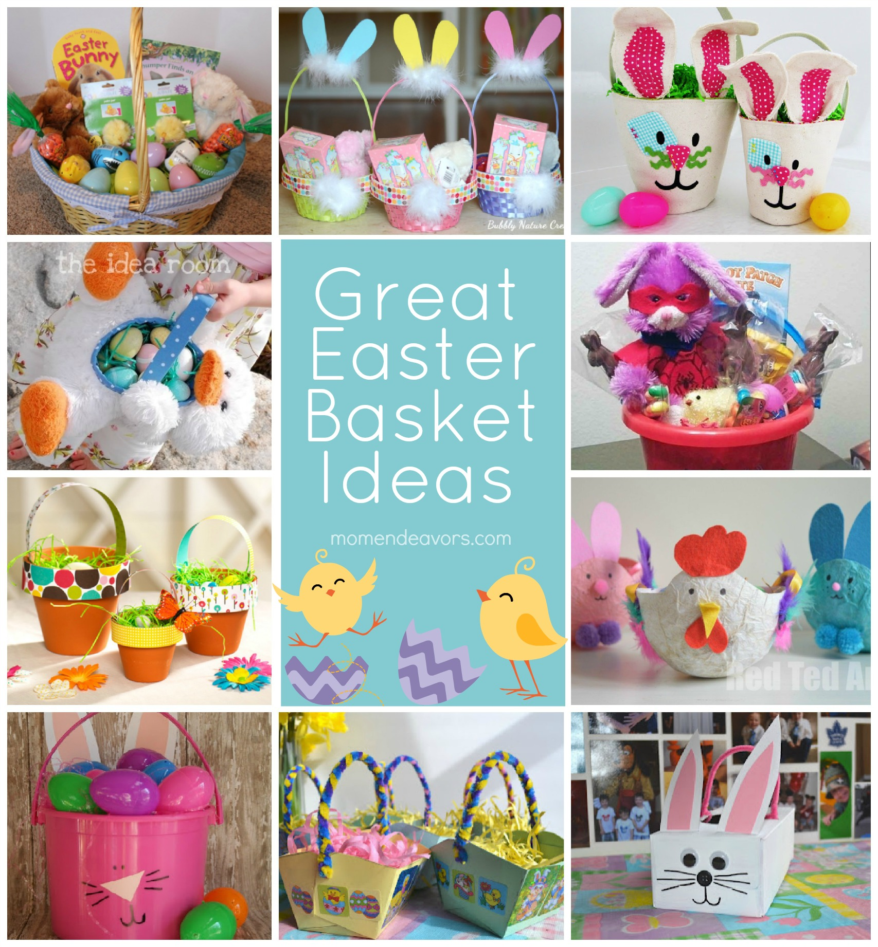 Great Easter Basket Ideas Mom Endeavors
