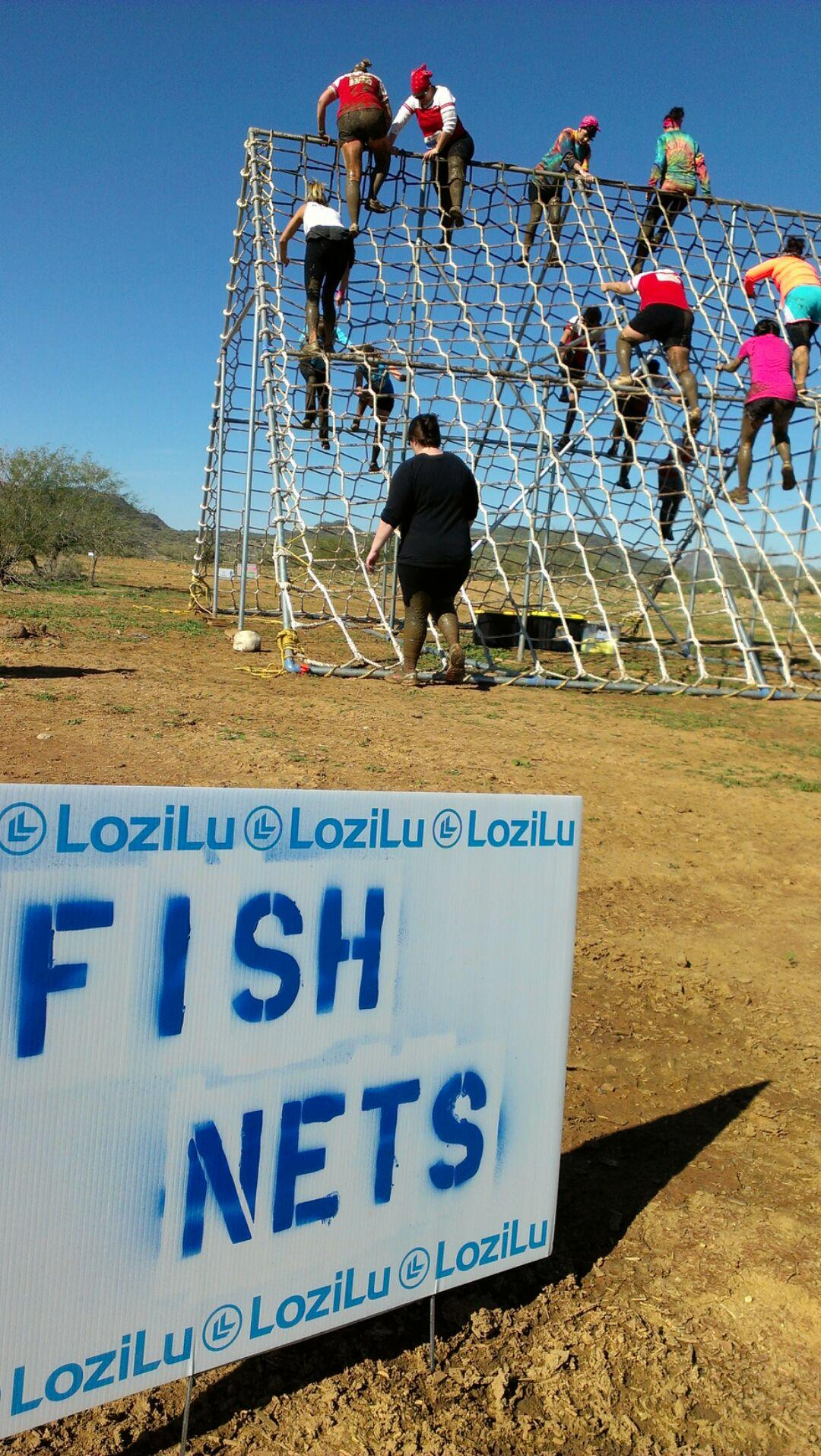 Lozilu Fish Nets Obstacle