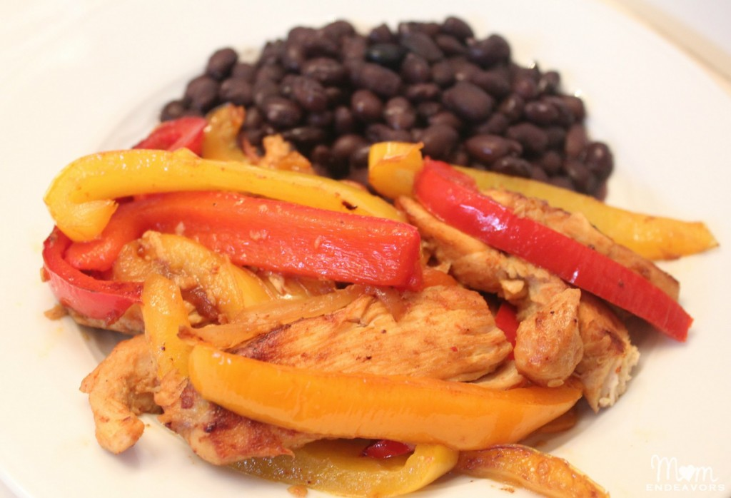 Low Carb Chicken Fajitas