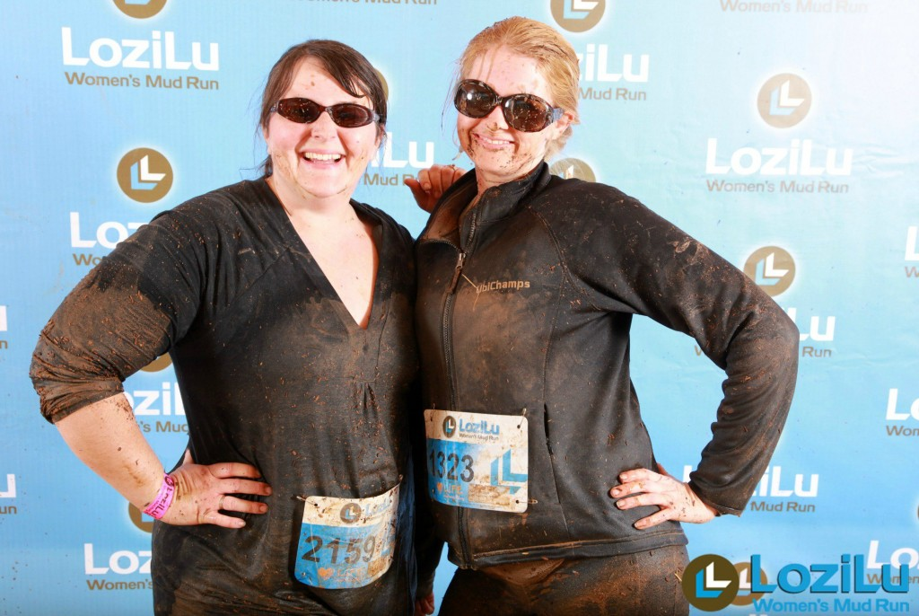 Lozilu Mud Run Finish