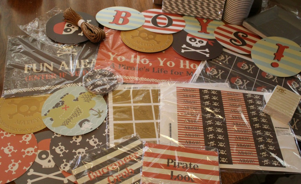 Minted Pirate Party Supplies