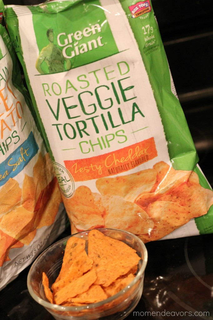 Roasted Veggie Tortilla Chips
