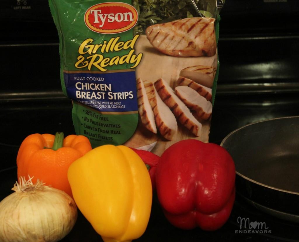 Tyson Grilled & Ready Chicken Strips