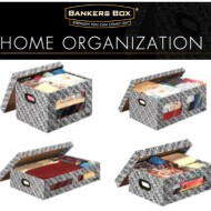 Get Organized with Fellowes Bankers Boxes – Stackable Storage System Giveaway! #BankersBox