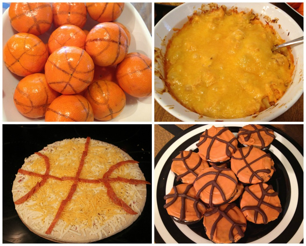 Basketball tournament party kettlemadness for Basketball craft party ideas