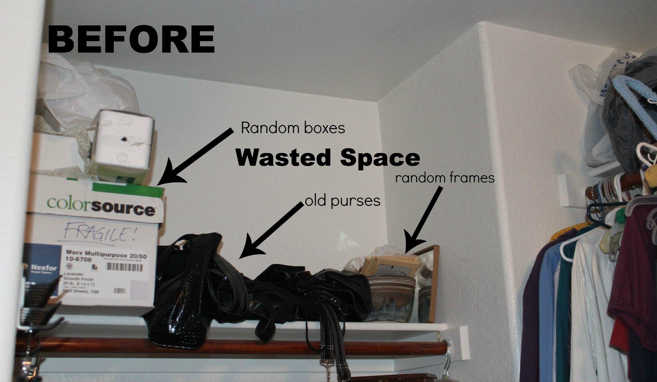 ... Closet Nook Before