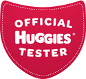 Huggies-Tester-Badge